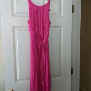 Beautiful silky maxi dress